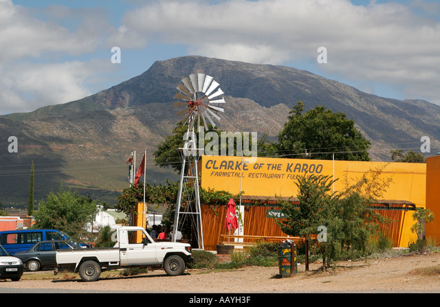 south africa little Karoo Route 62 Farmstall restaurant - Stock Image