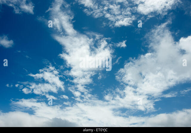 Cloud formation - Stock Image