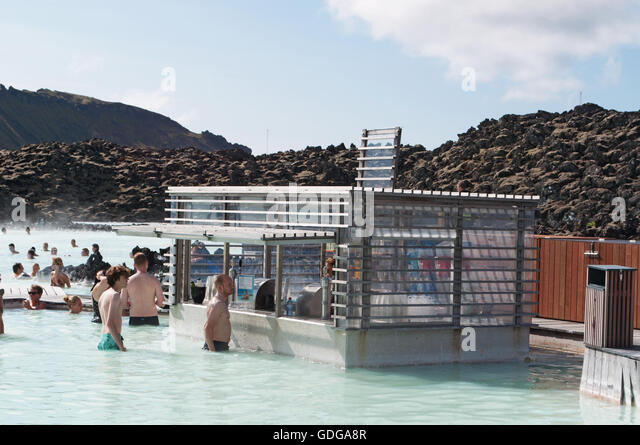 Iceland reykjanes peninsula grindavik icelandic stock for Where is the blue lagoon located in iceland