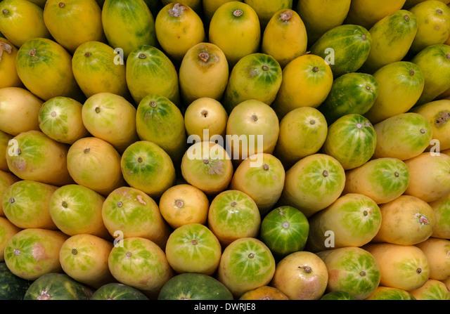 Vegetables in food market Kandy Sri Lanka - Stock Image