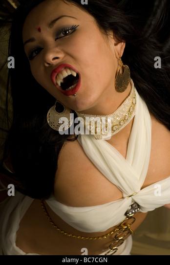 Vampire Fangs Stock Photos & Vampire Fangs Stock Images - Alamy