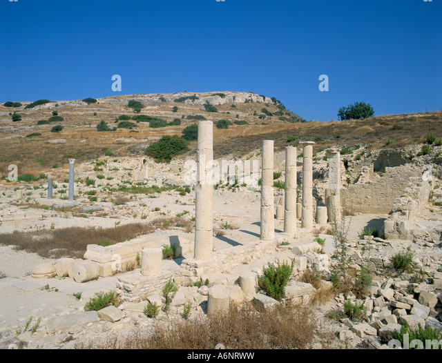 Archaeological site of Amathous Cyprus Mediterranean Europe - Stock Image