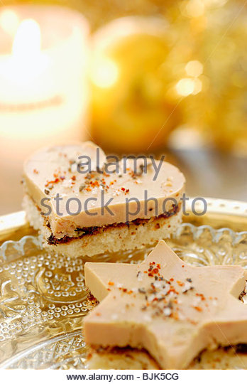 Giblet stock photos giblet stock images alamy for Foie gras canape