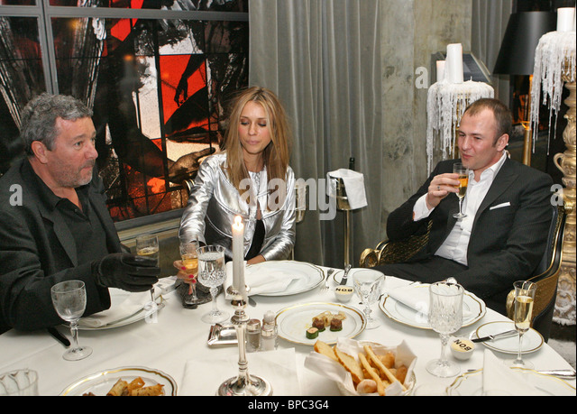 French designer Philippe Patrick Starck opens his restaurant Bon in Moscow - Stock Image