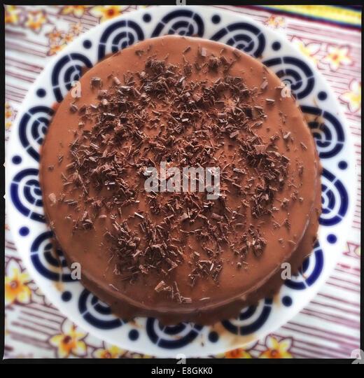 Chocolate cake - Stock-Bilder
