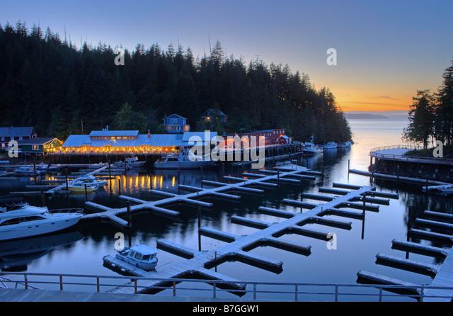 Telegraph Cove Northern Vancouver Island British Columbia Canada