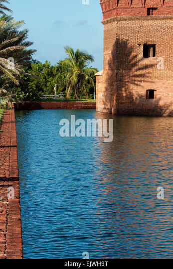 Fort Jefferson National Park - Stock Image