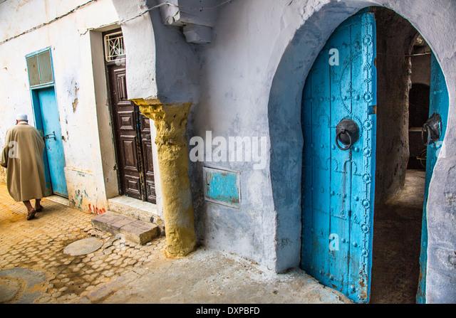 Old town, Kairouan, Tunisia - Stock Image