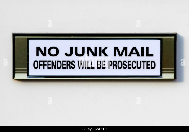 how to stop junk mail delivered by australia post