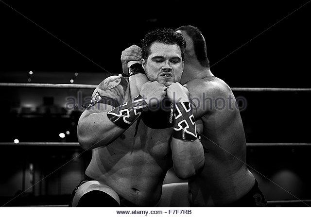 wrestling - Stock Image