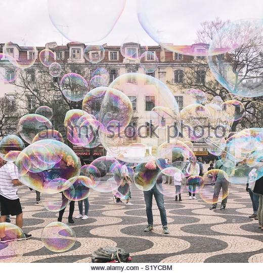 Bubbles - Stock Image