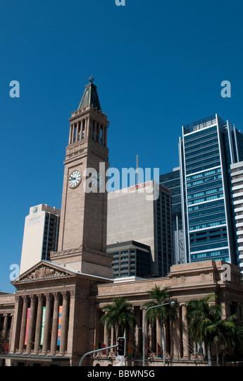 Foyer Museum Queensland : Brisbane landmark building stock photos