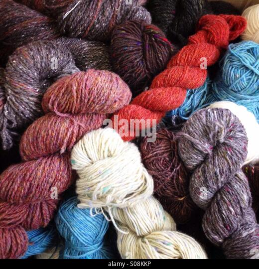 Wool - Stock Image