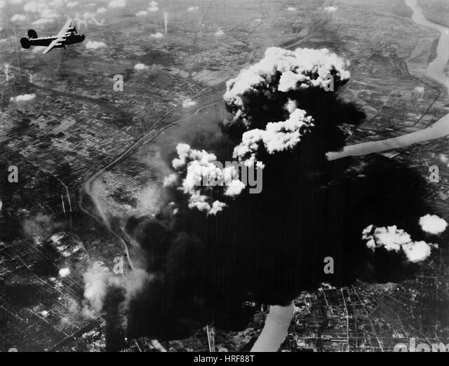 WWII, Budapest Attack - Stock Image