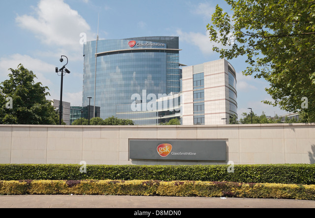 Front Elevation Of Office Building : Gsk building stock photos images alamy