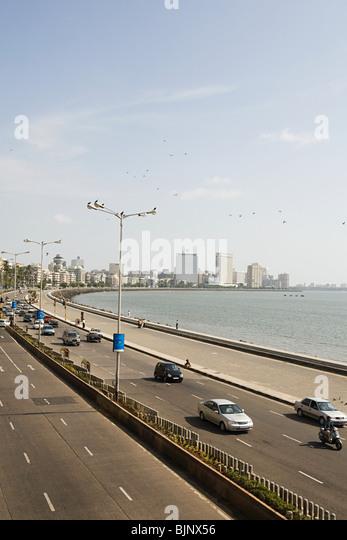 Traffic in mumbai - Stock Image