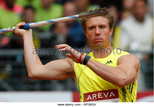 Andreas Thorkildsen Competes In Mens Stock Photos ... Andreas Thorkildsen