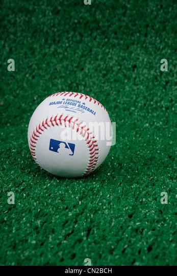 Major League Baseball. - Stock Image