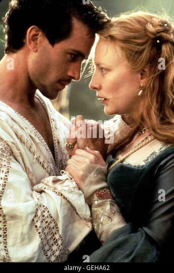Joseph Fiennes, Cate Blanchett *** Local Caption *** 1998, 1990er, 1990s, Elizabeth, Film, Elizabeth - Stock-Bilder