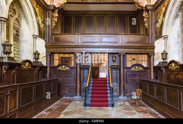 english stately home interior stock photos english