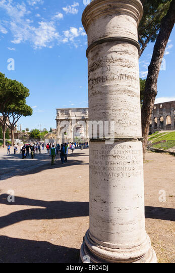 Arc di Costantino - Stock Image