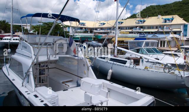 St martin dock stock photos st martin dock stock images - Marina port la royale marigot st martin ...