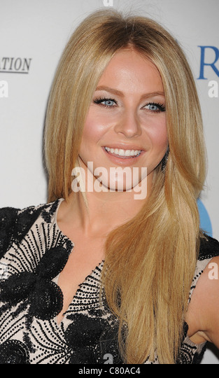 JULIANNE HOUGH US TV personality  in September 2011. Photo Jeffrey Mayer - Stock Image