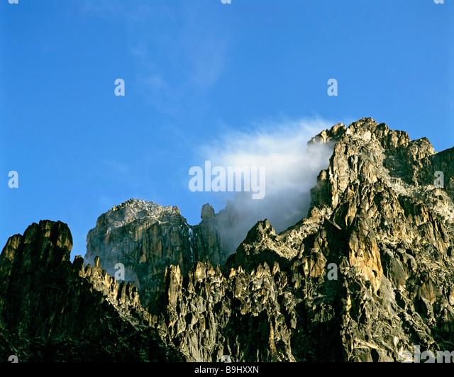 Mount Kenia, Kenia, Central Africa - Stock-Bilder