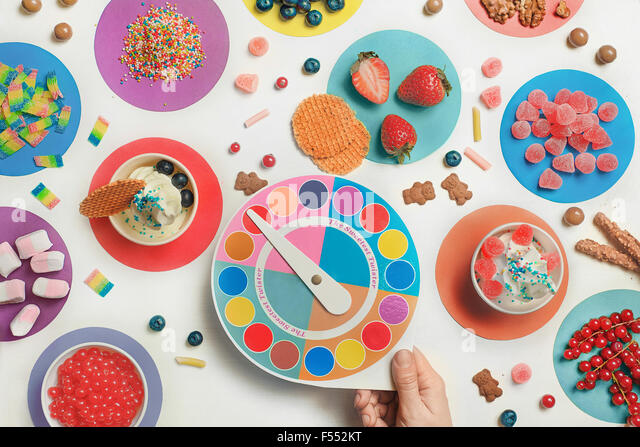 The sweetest twister - Stock Image