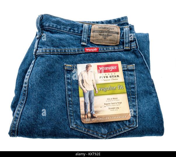 Wrangler Jeans Stock Photos & Wrangler Jeans Stock Images ...