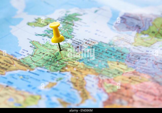 Travel to Paris - Stock-Bilder