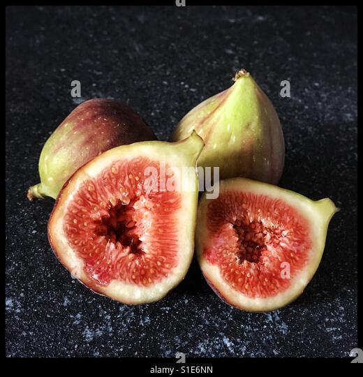 Fresh figs. - Stock-Bilder
