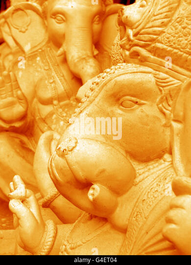 Ganesha idols - Stock Image