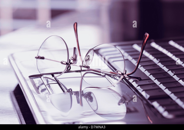 Internet research, conceptual image - Stock Image
