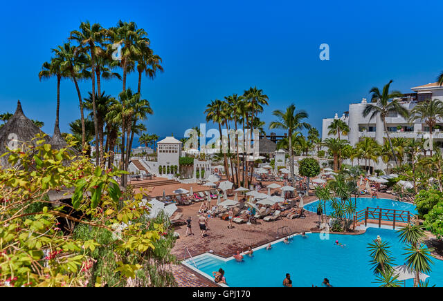 Hotel jardin tropical stock photos hotel jardin tropical for Jardin tropical tenerife