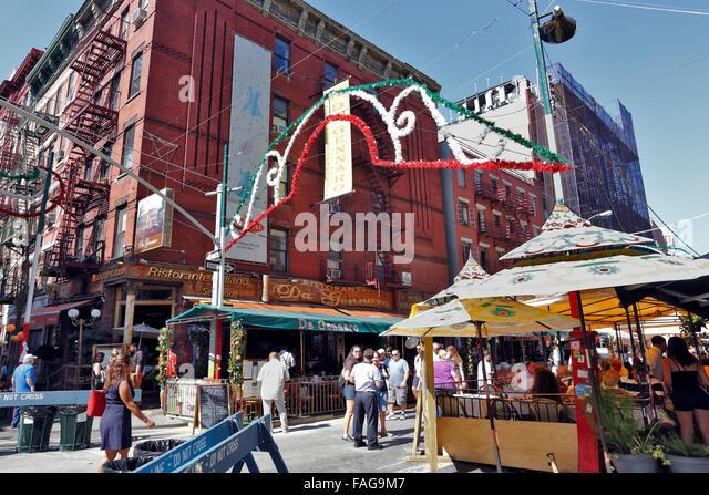 San Gennaro New York Stock Photos & San Gennaro New York ...