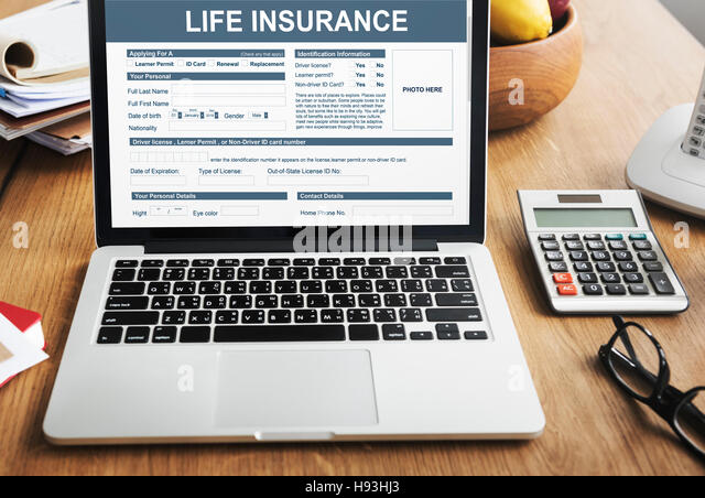Life Insurance Form Accident Benefits Concept Stock Photo 126084171