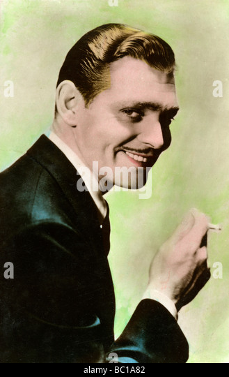 Clark Gable, American actor, 20th century. - Stock Image