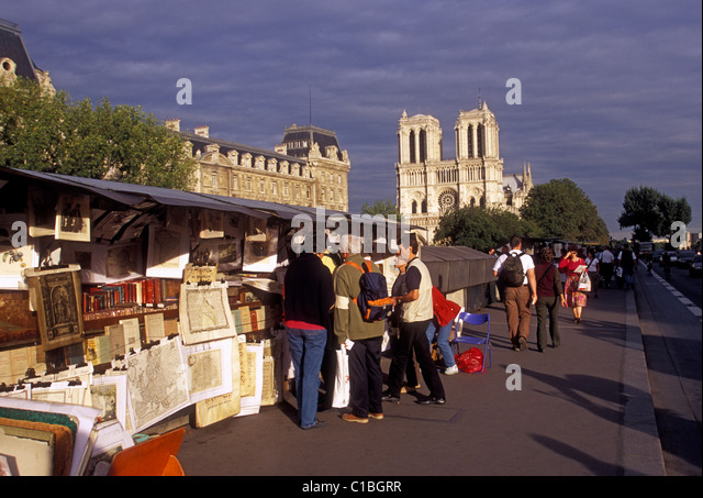 Quai saint michel stock photos quai saint michel stock images alamy - Marche saint michel paris ...