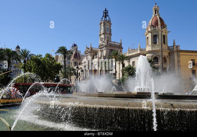 Valencia Spain - Stock Image
