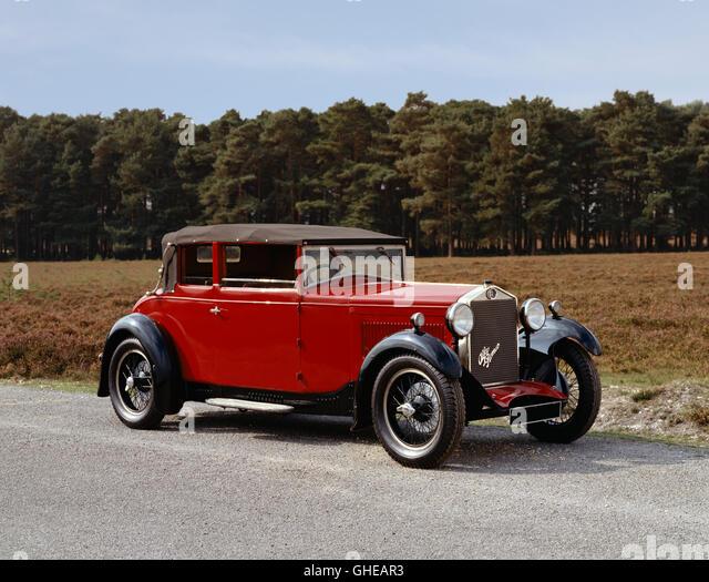 1930 Alfa Romeo 1.75 litre Tipo 6C 1750 Turismo Country of origin Italy - Stock Image
