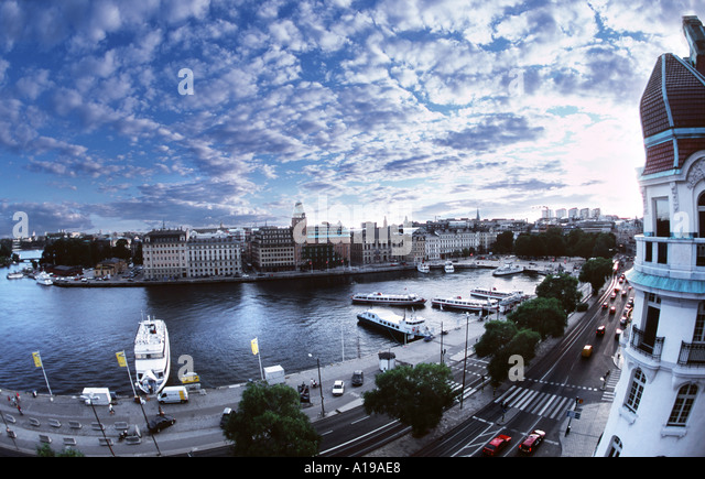 Stockholm View - Stock Image
