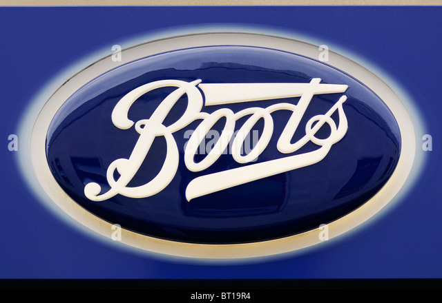 Boots the Chemist Sign - Stock Image