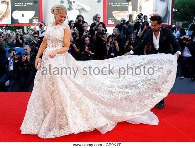 Model Hofit Golan attends the red carpet event for the movie 'Nocturnal Animals' at the 73rd Venice Film - Stock-Bilder