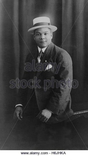circa 1920's - American jazz saxophonist Sidney Bechet. Editorial use only.  Photo Courtesy Granamour Weems - Stock Image