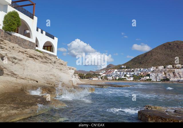 San Jose, Cabo de Gata-Nijar Natural Park, Almeria Province, Spain. - Stock Image