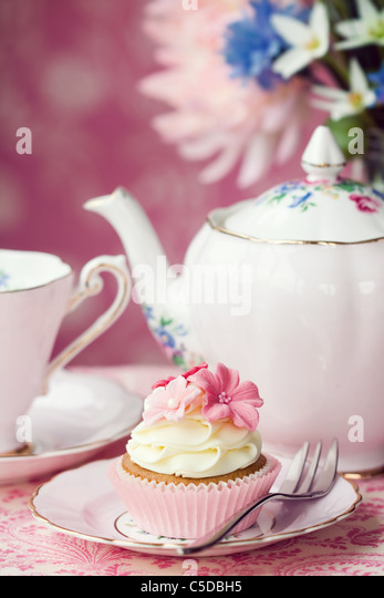 Afternoon tea - Stock Image