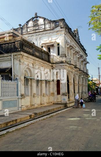 A STREET SCENE AT KARAIKKAL - Stock-Bilder