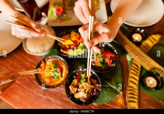 Asiatic Restaurant Couple
