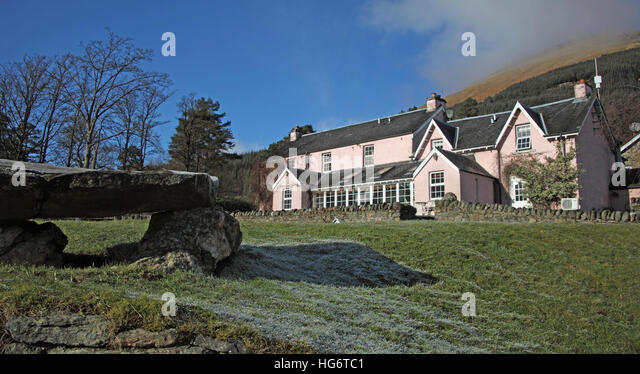 Monicle Mohr,Balquhidder,Sterling,Scotland, UK - Rob Roy Red MacGregors resting place - Stock Image